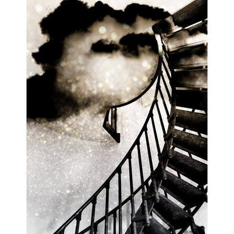 So High The Climb - 4x4 Fine Art Mini Print by Christina Thomas - unframed - Unlimited Edition