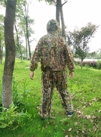 Hunting Clothes New 3D Maple Leaf Bionic Ghillie Suits