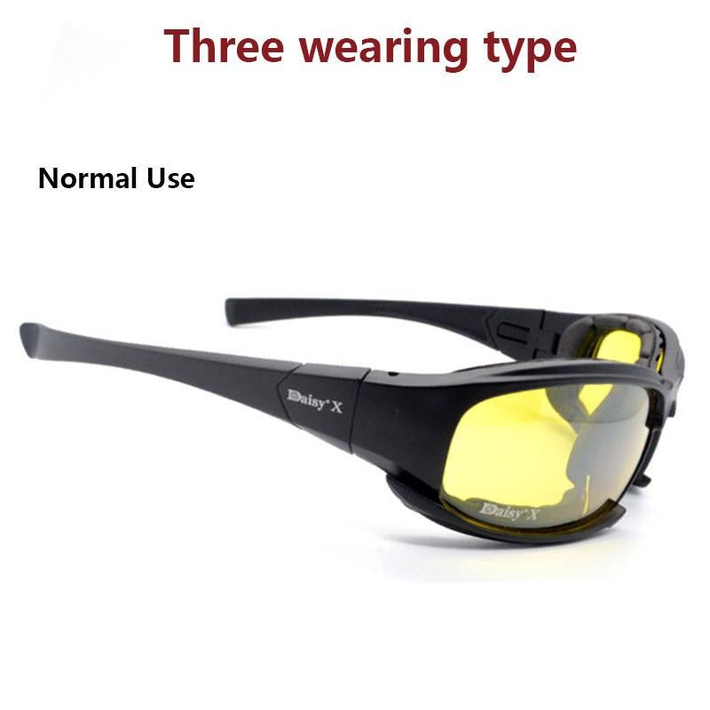 Polarized Sunglasses Tactical Shooting Airsoft Goggles
