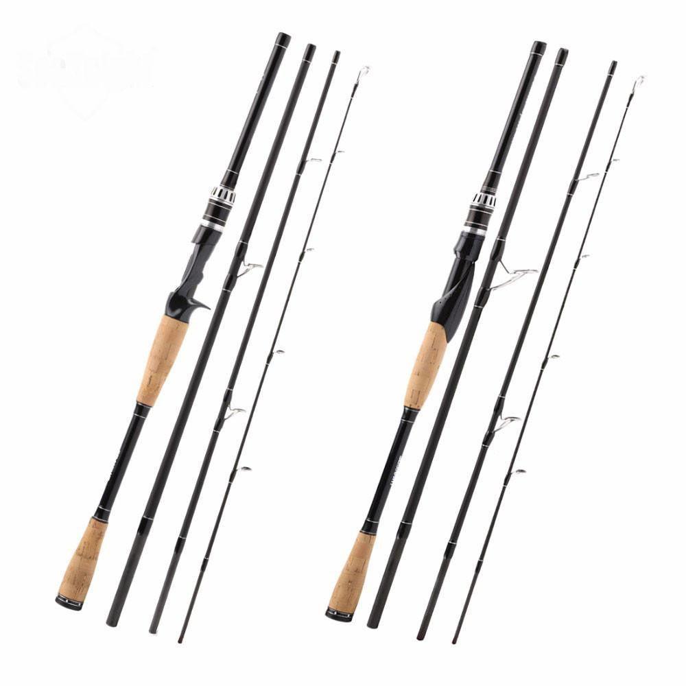 12-25lbs Carbon Fiber Spinning 704M Fishing Rod