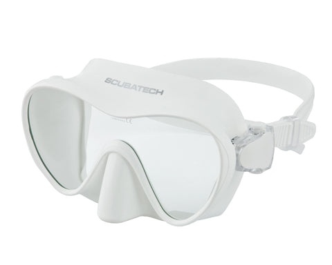 Tecline Frameless White Mask