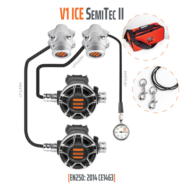 Tecline V1 ICE SemiTec II Regulator Set