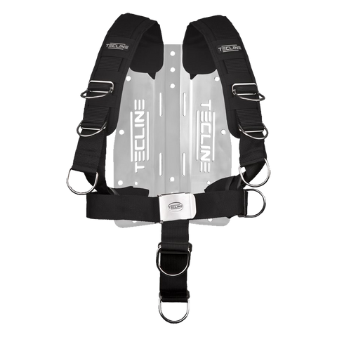 Tecline Aluminium Backplate with Comfort Harness