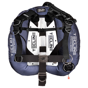Tecline Donut 22 SE Comfort Harness Backplate and Wing BC Set