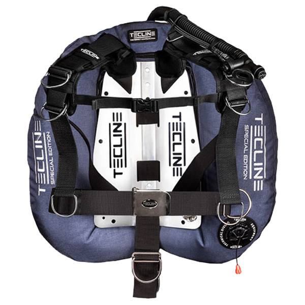 Tecline Donut 22 Comfort Harness Backplate and Wing Set