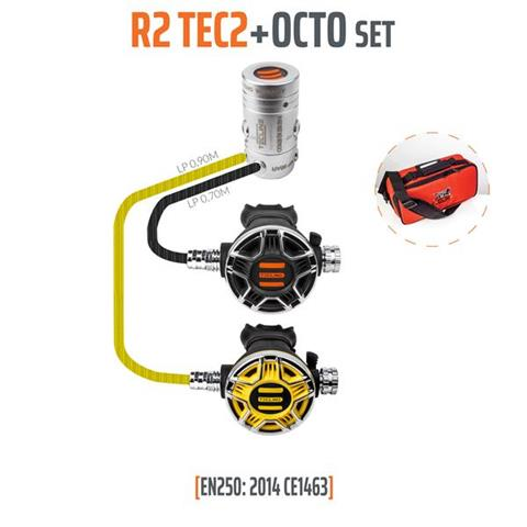 Tecline R2 TEC2 + Octo Regulator Set