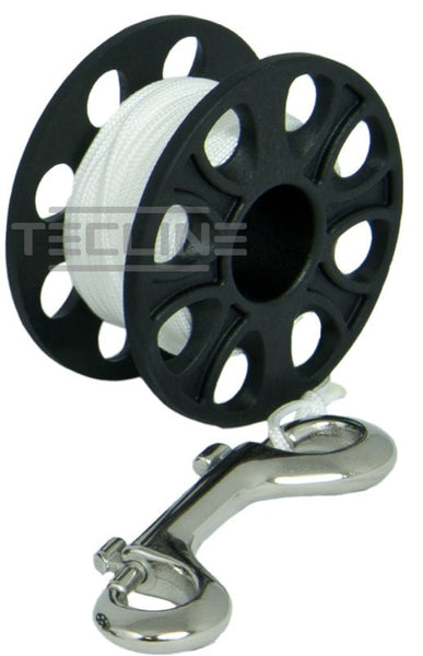 Tecline Spool with SS Bolt Snap