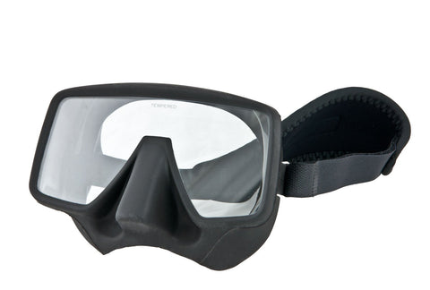 Tecline Frameless Classic Mask w/ Neoprene Slap Strap