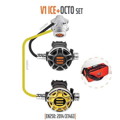 Tecline V1 ICE + Octo Regulator Set