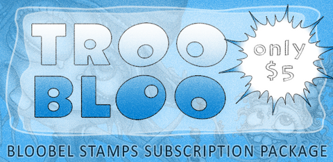Bloobel Stamps Subscription.