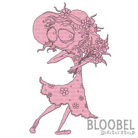 Bekkah Bloom - Digital Stamps by Bloobel - 1