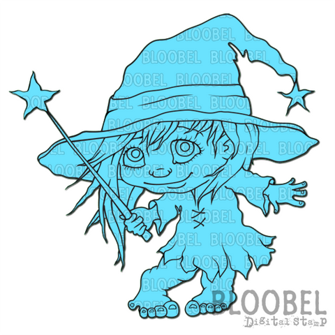 Cast A Spell - Digital Stamps by Bloobel