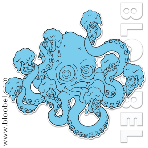 Ice Cream Octopus