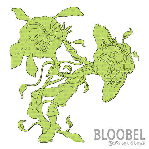Expert Gardener - Digital Stamps by Bloobel