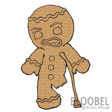 Gingerbread Blues - Digital Stamps by Bloobel