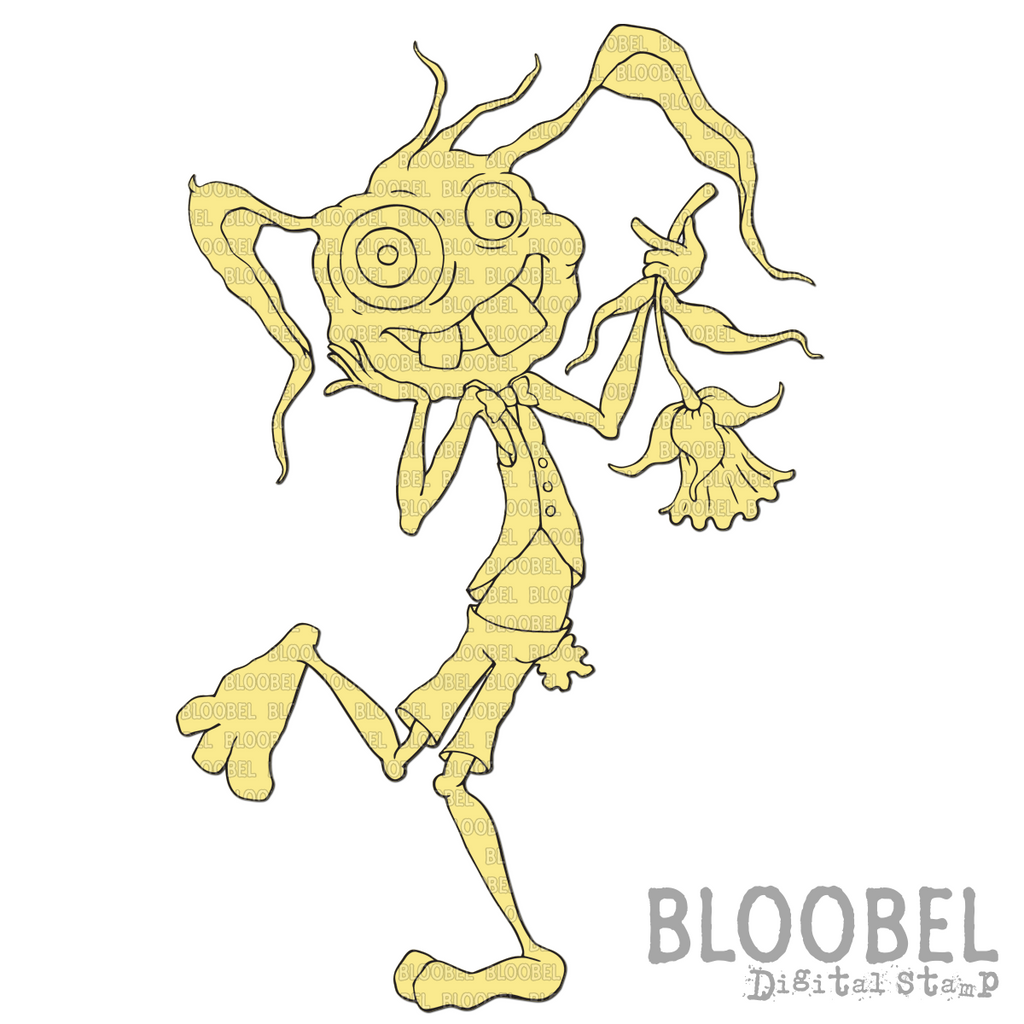 March Hare - Digital Stamps by Bloobel