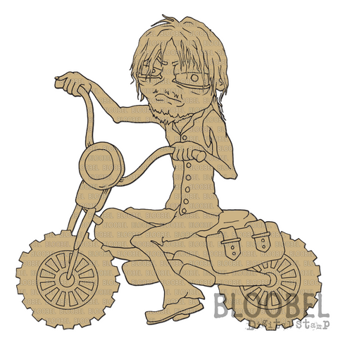 Ride Or Die - Digital Stamps by Bloobel