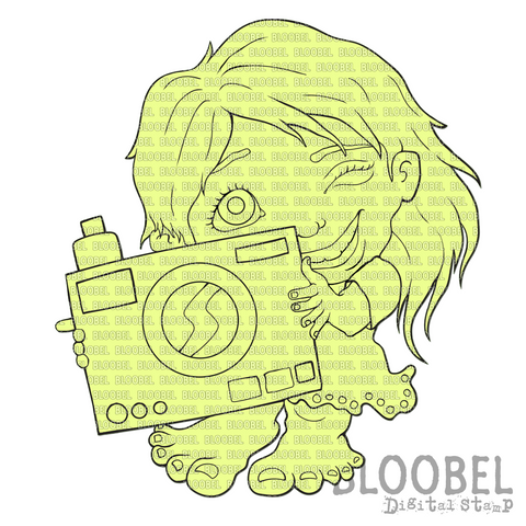Say Cheese - Digital Stamps by Bloobel