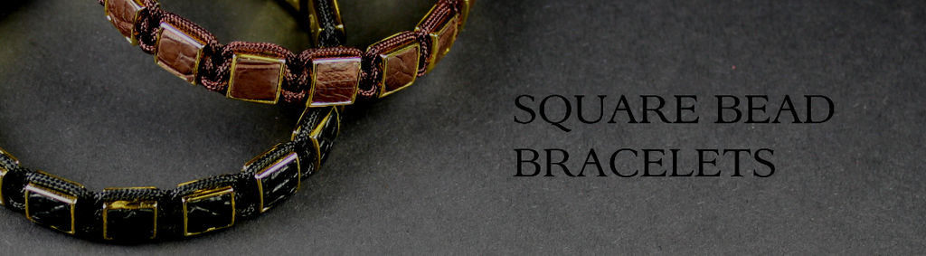 Square Bead Bracelets for Men