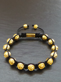 Men's Beaded Bracelet with Clariste Beads Gold | Clariste Jewelry - 2