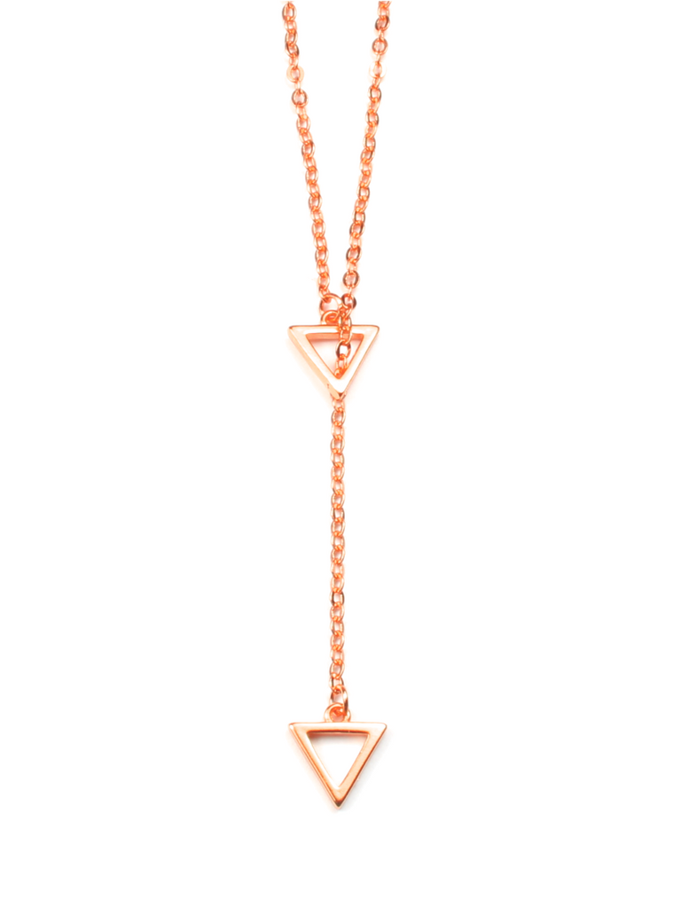 Women's Cairo Necklace Rose Gold