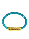 Women's Turquoise Stingray Bracelet with Gold Lock | Clariste Jewelry - 2