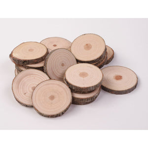 4 - 6 Cm Wood Slices (20 Pack) - Small Wood Slices