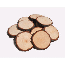 Load image into Gallery viewer, 6 - 8 Cm Wood Slices (20 Pack) - Small Wood Slices