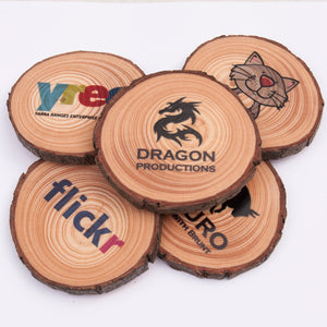 Wood Slice Product Tags (20 pack)
