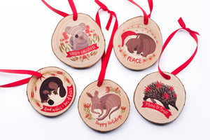 Koala Christmas Ornament