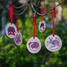 Load image into Gallery viewer, Koala Christmas Ornament