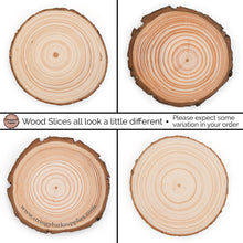 Load image into Gallery viewer, Plain Wood Slice Coasters | 10 pack