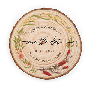 Save The Date - Australian Floral