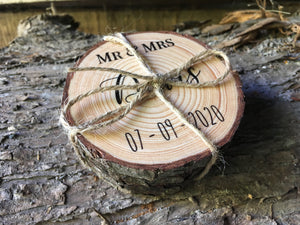 Personalised Wedding Gift Coasters