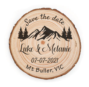 Save The Date - Mountain