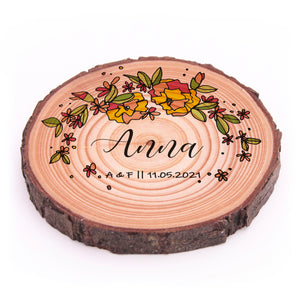 Coasters - Floral Place Names