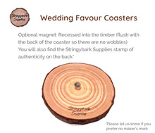 Load image into Gallery viewer, Coasters - Bluegum