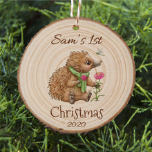 Load image into Gallery viewer, Baby's First Christmas - Echidna - Personalised Ornament