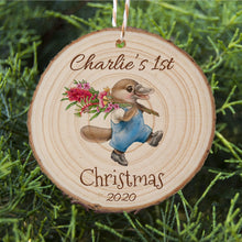 Load image into Gallery viewer, Baby's First Christmas - Platypus - Personalised Ornament