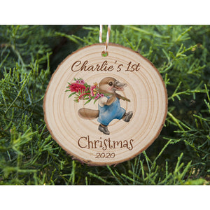 Baby's First Christmas - Platypus - Personalised Ornament