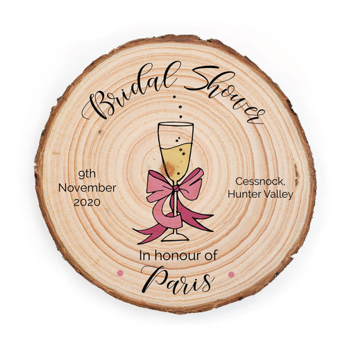 Bridal Shower Invitation - Champagne - Invitation