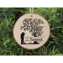 Load image into Gallery viewer, Engaged Couple Ornament - Tree - Personalised Ornament