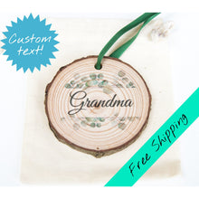 Load image into Gallery viewer, Eucalyptus Ornament - Mother's Day Magnet