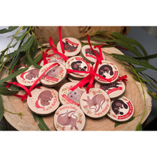 Load image into Gallery viewer, Kangaroo Christmas Ornament - Christmas ornaments