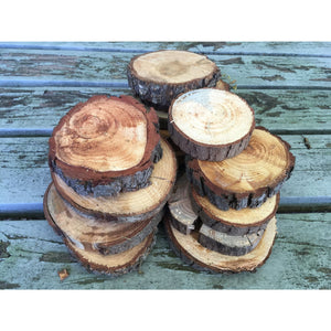 Large Wood Slice Seconds (10 Pack) - Large Wood Slices
