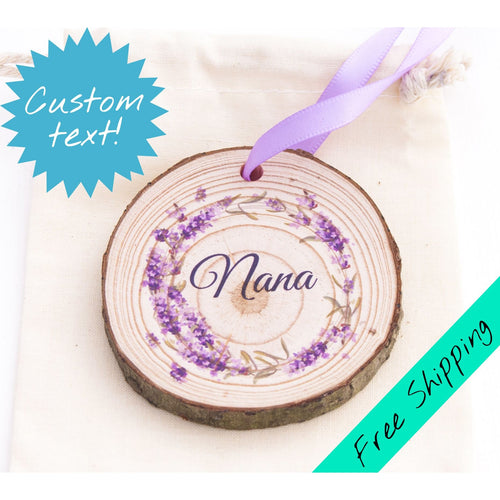 Lavender Wreath Ornament - Mother's Day Magnet