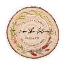 Load image into Gallery viewer, Sample Save the Date - Small / Australian Floral - Save the dates