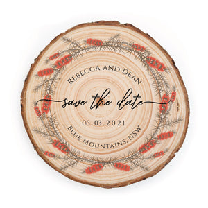 Sample Save the Date - Small / Callistemon - Save the dates