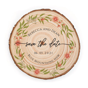 Sample Save the Date - Small / Flowering Gum - Save the dates