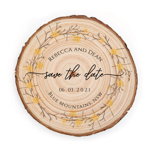 Sample Save the Date - Small / Grevillea - Save the dates